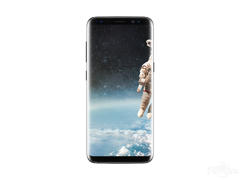 Samsung S8+ front view