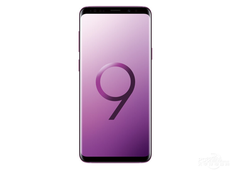 Samsung S9+ front view