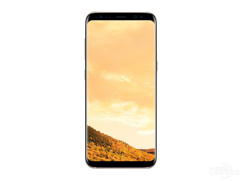 Samsung S8 front view