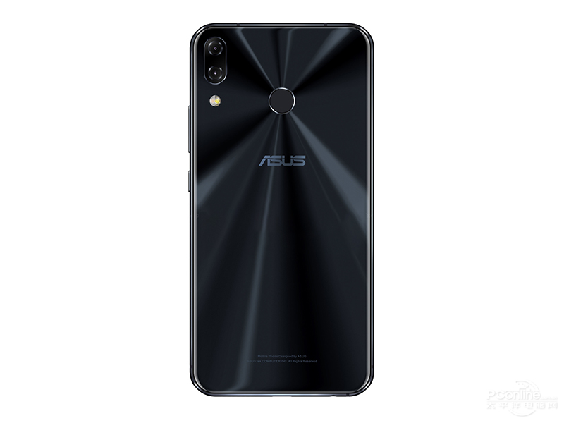 ASUS ZenFone 5 (2018) Black Rear view