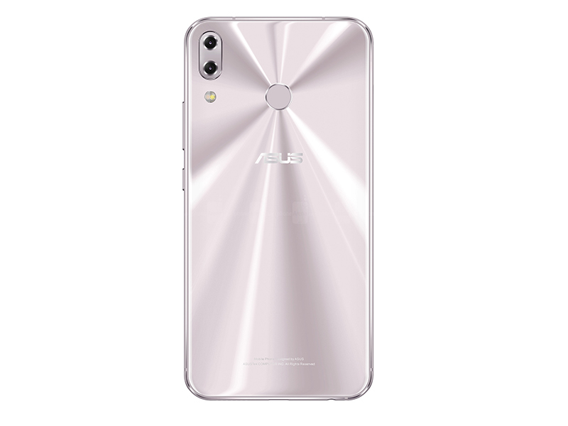 ASUS ZenFone 5 (2018) white rear view