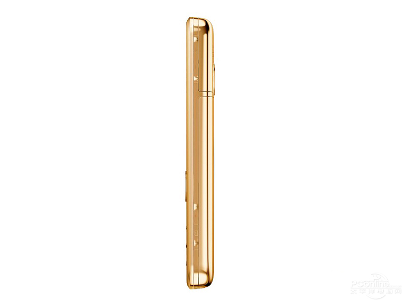 Nokia 6700c Gold Edition side view