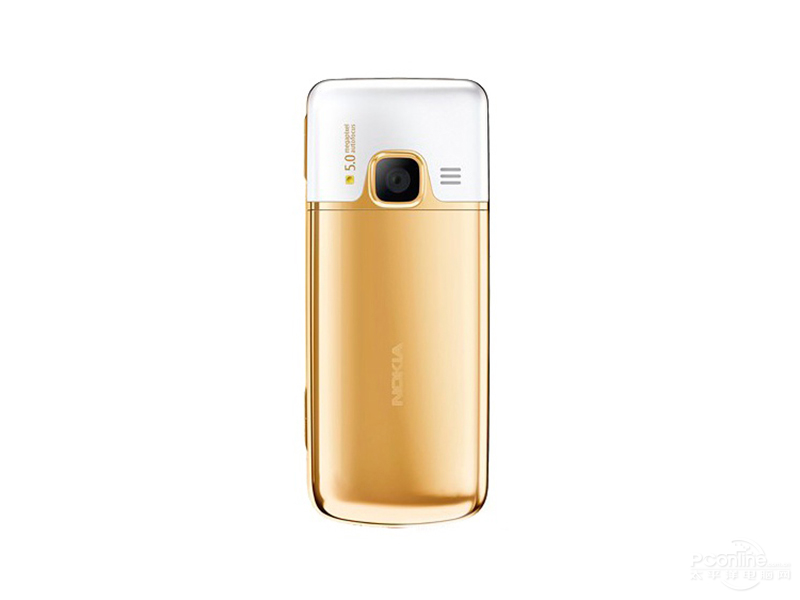 Nokia 6700c Gold Edition rear view