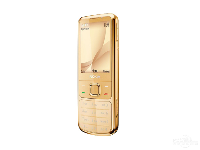 Nokia 6700c Gold Edition 45 degree