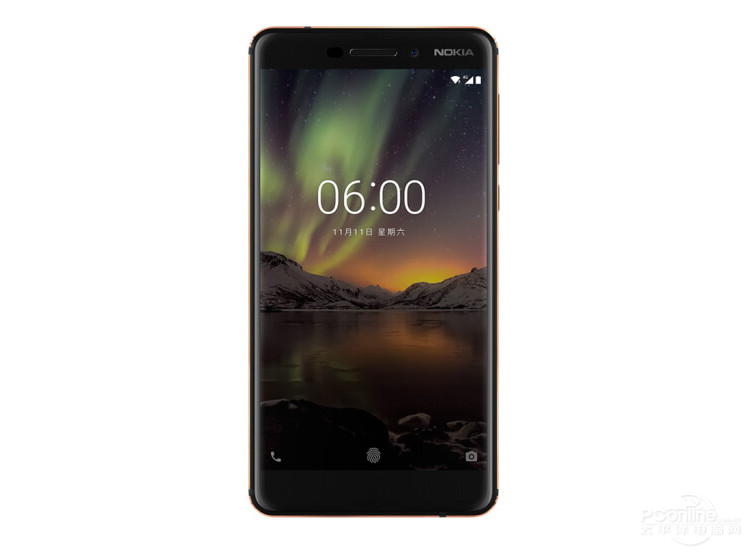 Nokia 6 second generation Android phone