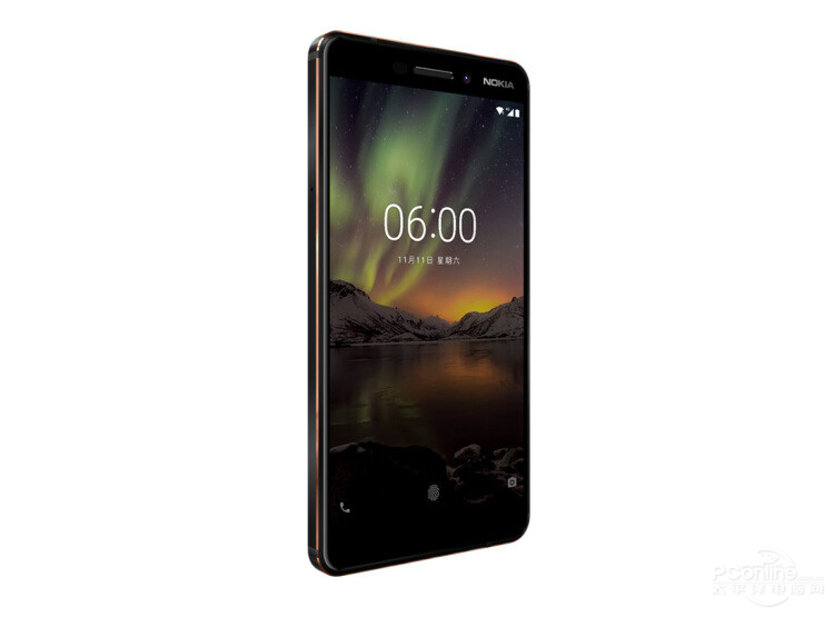 Nokia 6 second generation 45 degree
