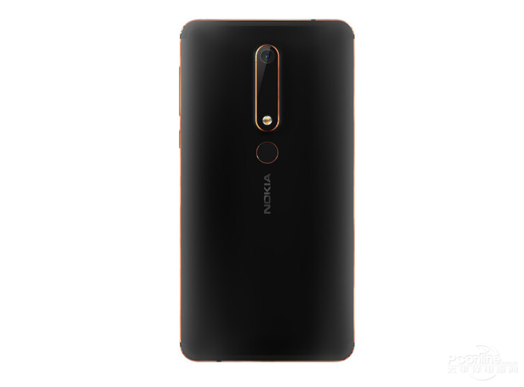 Nokia 6 second generation rear view