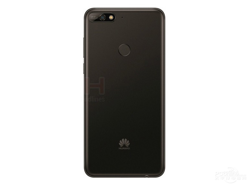 Huawei Y7 rear view