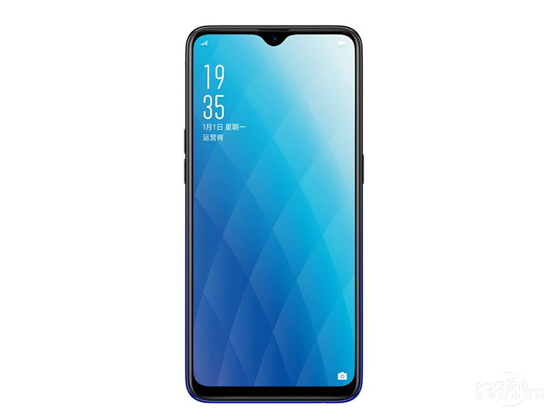 OPPO A7x front view