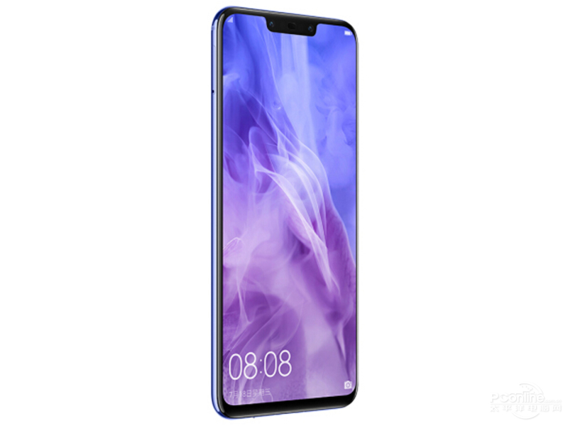 Huawei nova 3 45 degree view