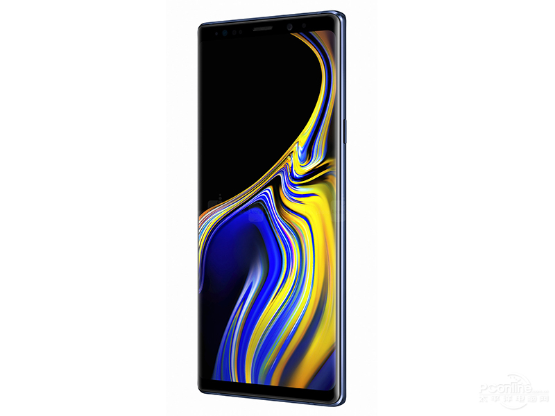Samsung Note 9 side view
