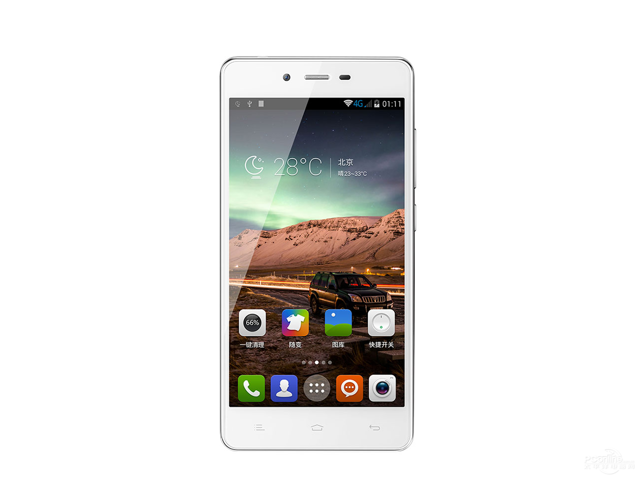 Gionee V188S front view