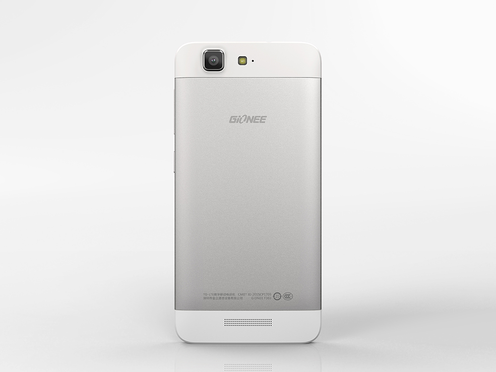 Gionee F303 rear view