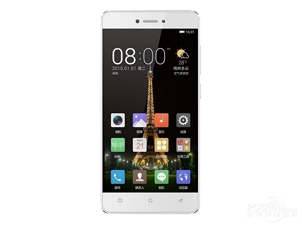 Gionee F100S front view