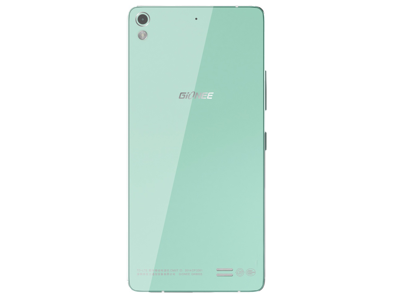 Gionee Elife S5.1 rear view