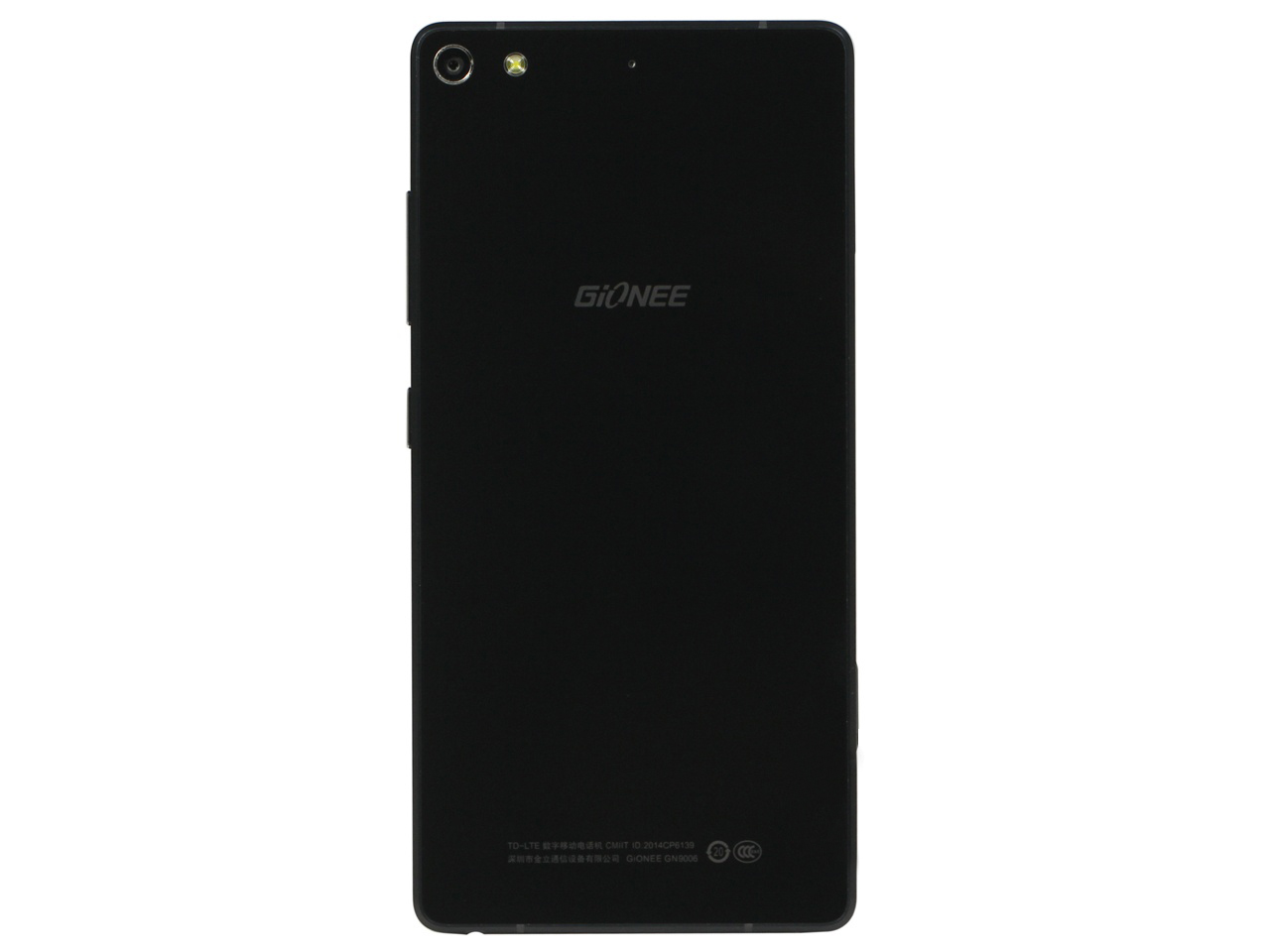 Gionee S7 rear view
