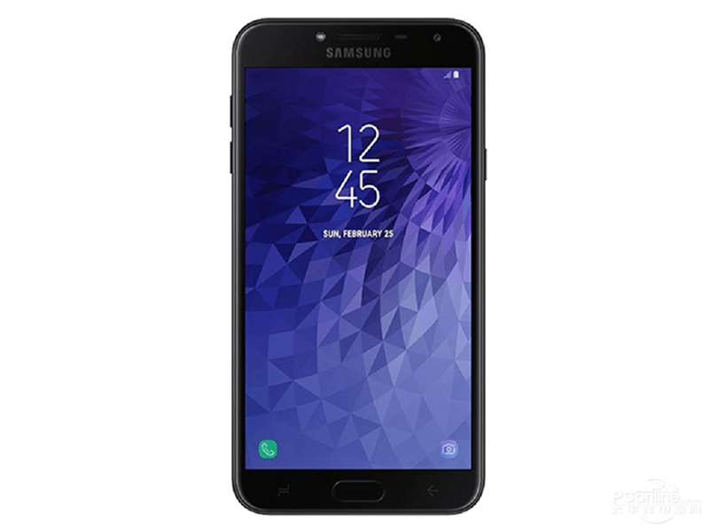 Samsung Galaxy J4 front view