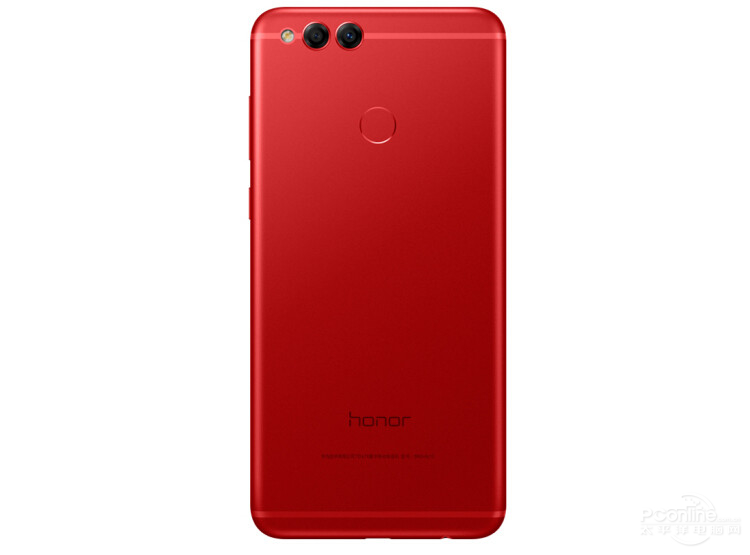 Honor 7X rear view