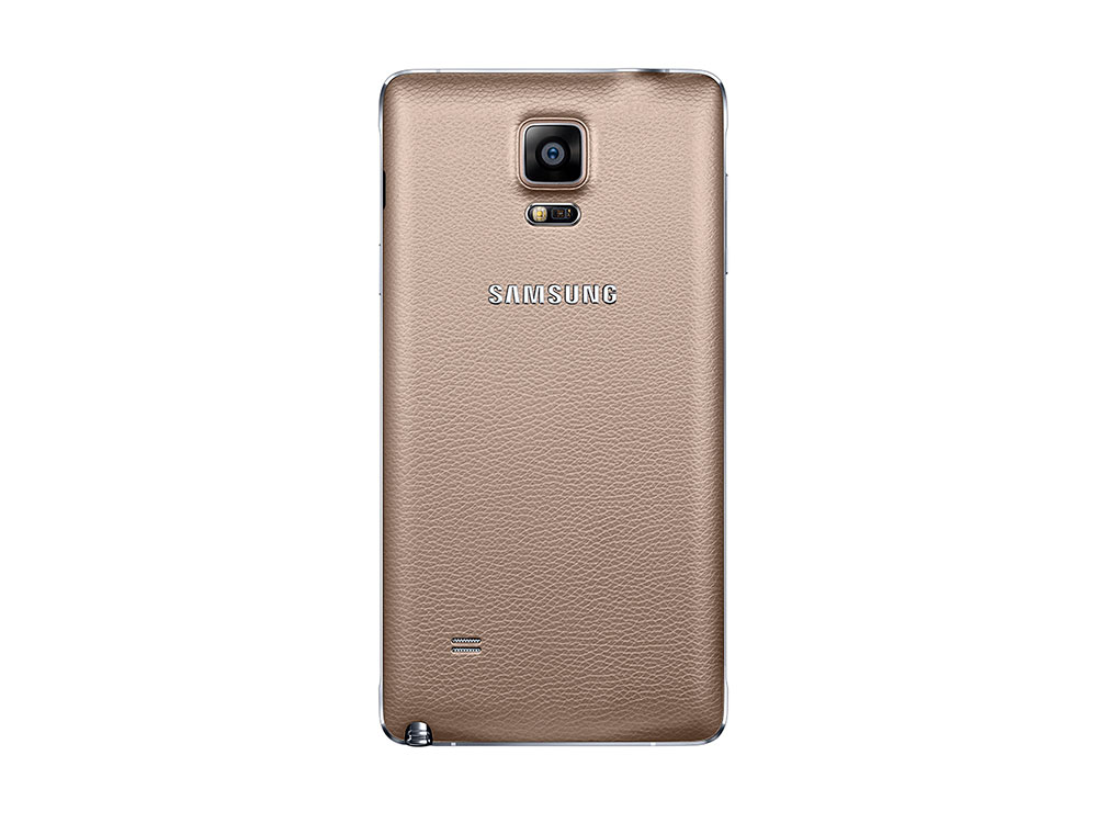 Samsung Galaxy Note 4 rear view